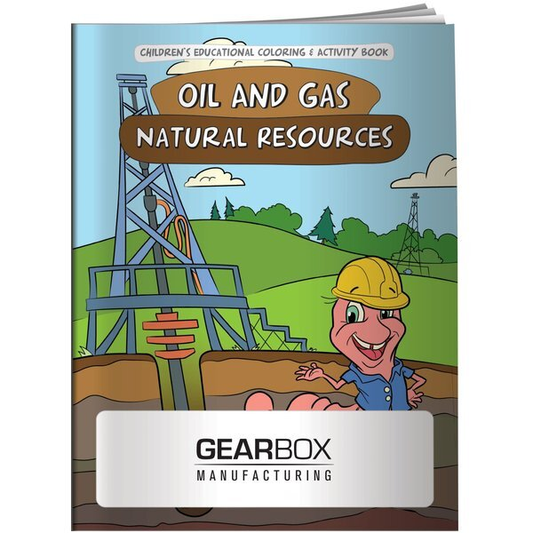Oil & Gas Natural Resources Coloring & Activity Book