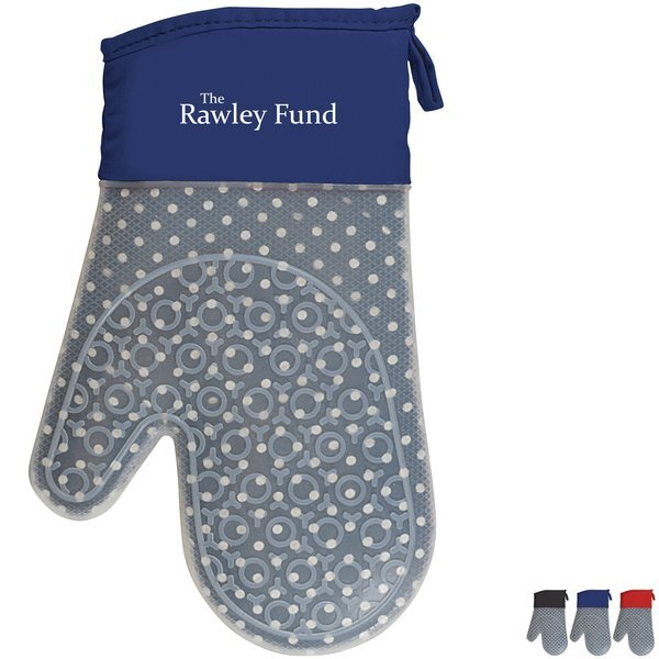 Pattern Play Silicone Oven Mitt