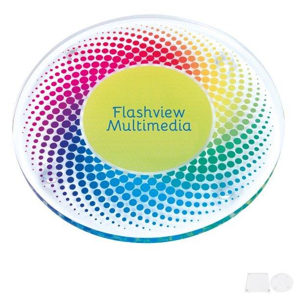 Acrylic Coaster, Full Color Imprint