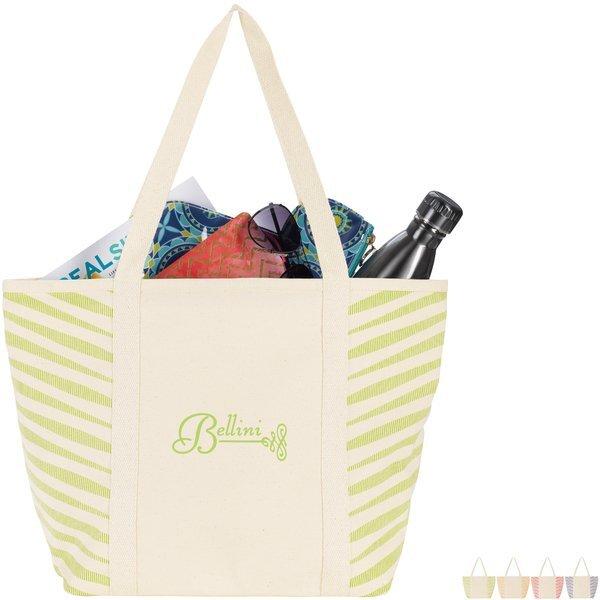 Zebra Colored Cotton Tote Bag