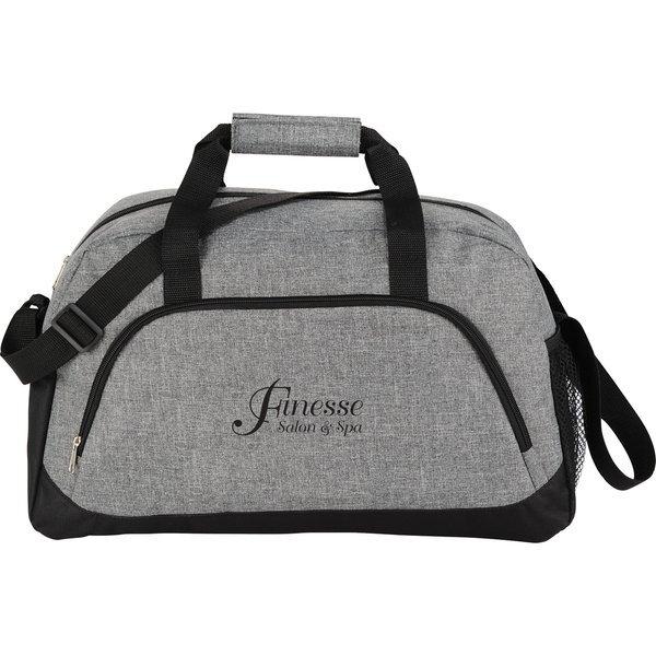 "Medium Graphite PolyCanvas 18.5"" Duffel Bag"