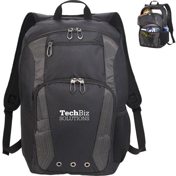 """Blackburn Dobby Nylon 17"""" Computer Backpack"""