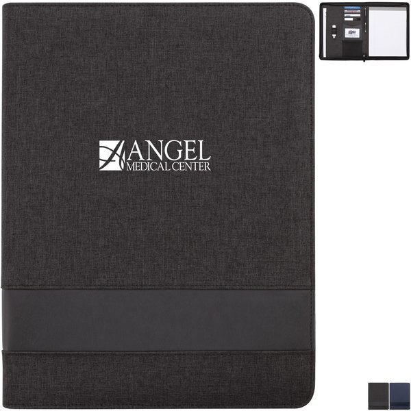Conference Call Zippered Padfolio w/Notepad