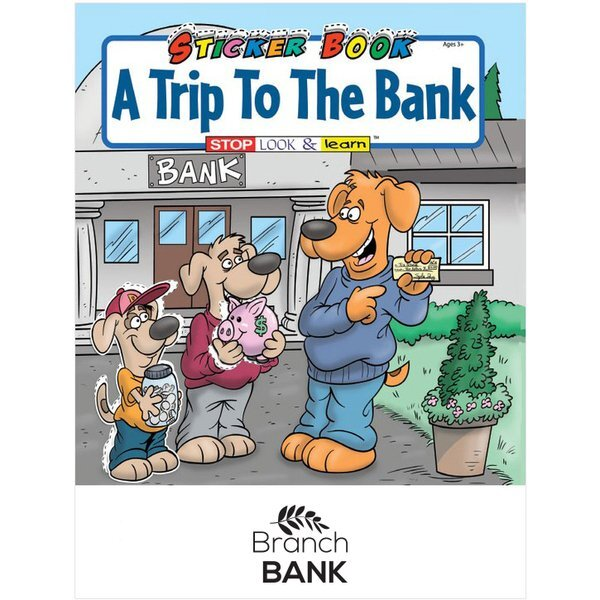 Trip to the Bank Sticker & Activity Book