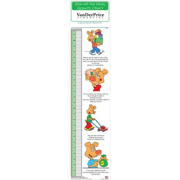 Grow With Your Money Children's Growth Chart