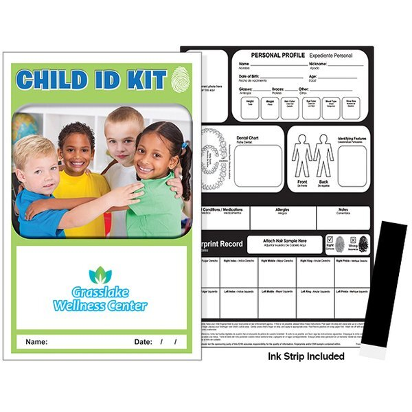 Children Cover Child ID Safety Kit