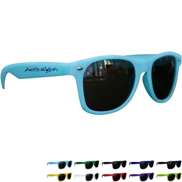 Matte Soft Rubberized Finish Miami Sunglasses