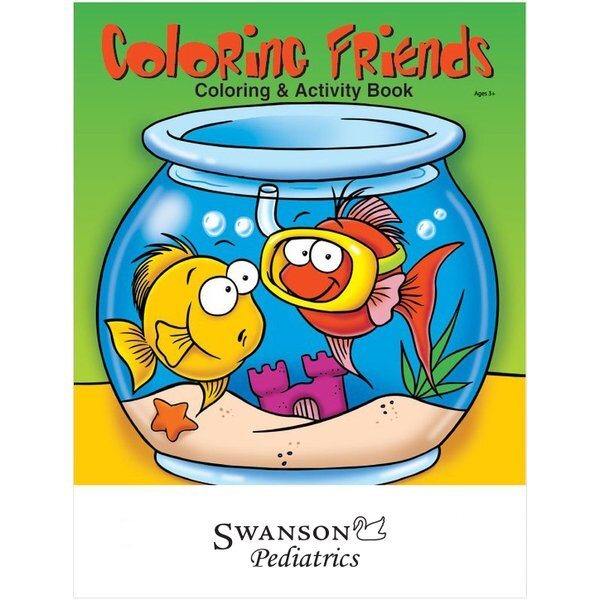 Coloring Friends Pets Coloring & Activity Book
