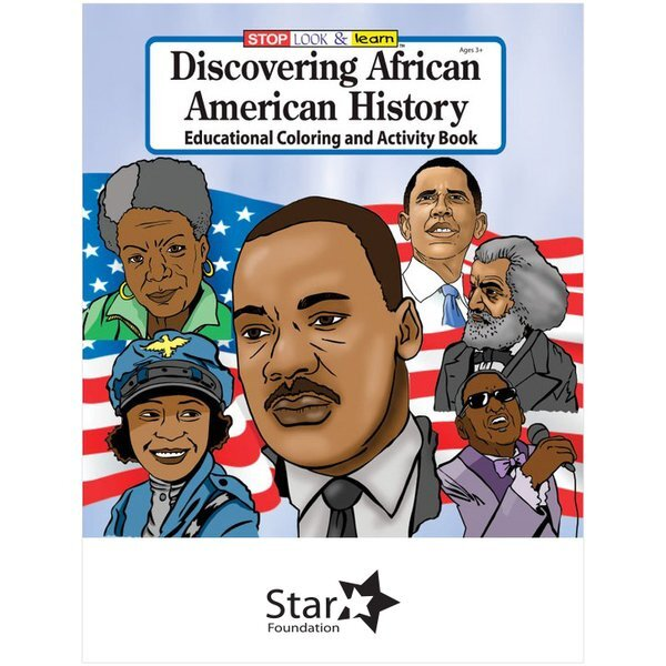 Discovering African American History Coloring Book