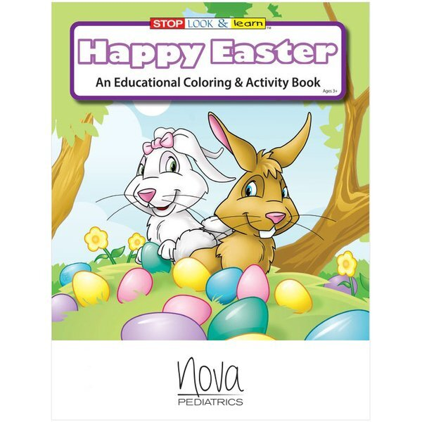 Happy Easter Coloring & Activity Book