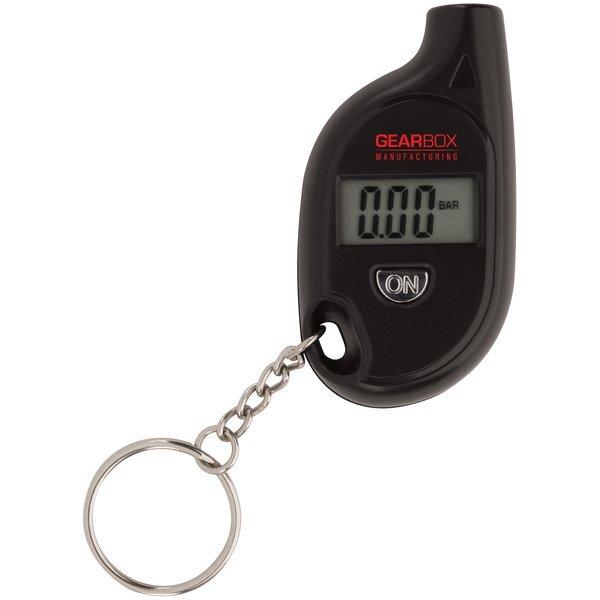 Digital Tire Gauge Keychain