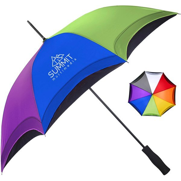 "Arc Rainbow Umbrella, 46"" Arc"