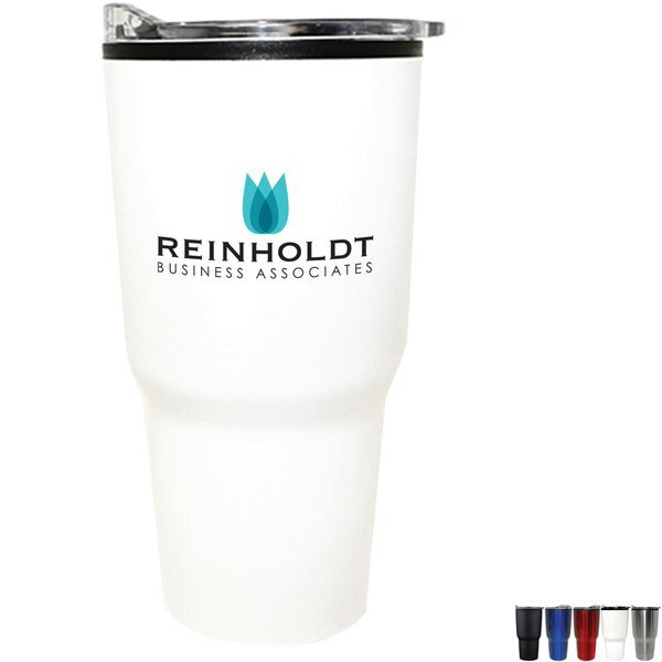 Ares Stainless Steel Tumbler, 30oz., Full Color Imprint