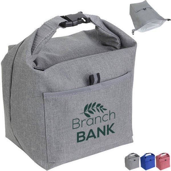 Bellevue Heathered Polyester Insulated Lunch Tote
