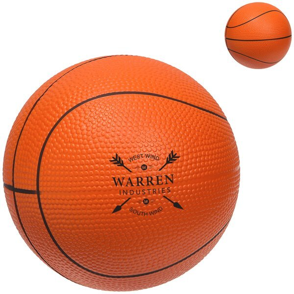 Basketball Stress Reliever, Large