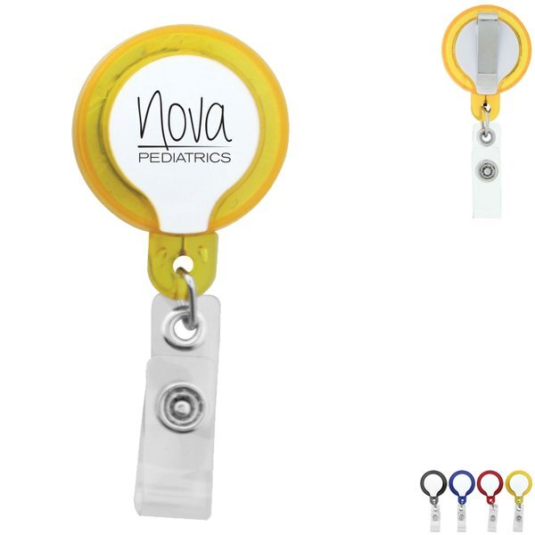 Bright Idea Retractable Badge Holder