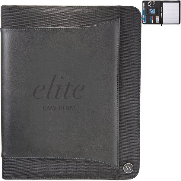 elleven™ Core Vinyl Zippered Padfolio