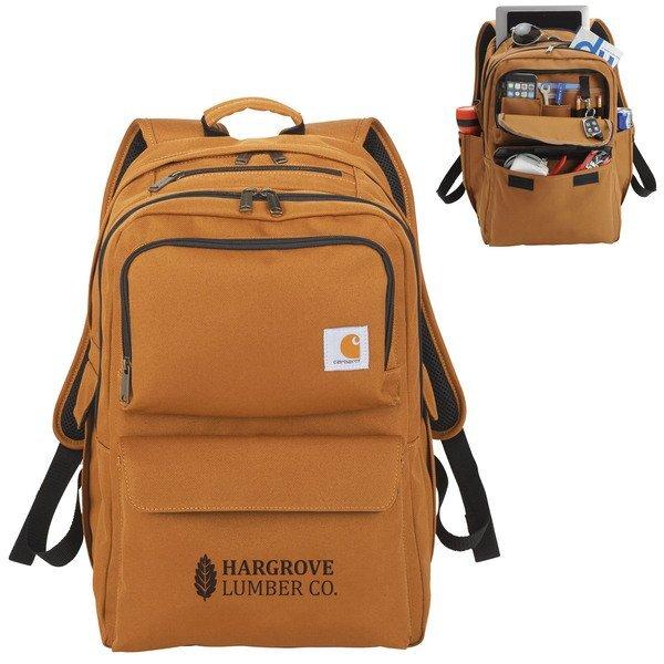 "Carhartt® 17"" Computer Signature Polyester Premium Backpack"