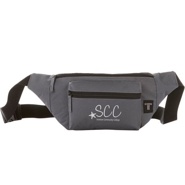 Tranzip Polyester Fanny Pack