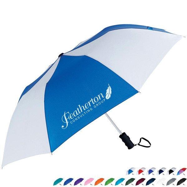"Windproof Auto Open Umbrella, 42"" Arc"