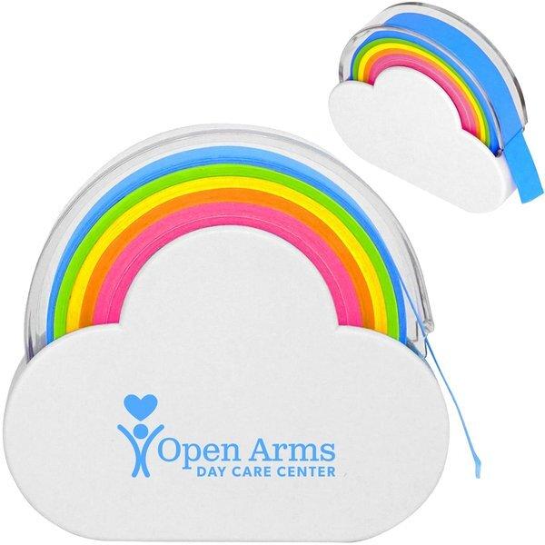 Rainbow Sticky Note Dispenser