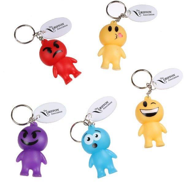 Emoji Man Keychain