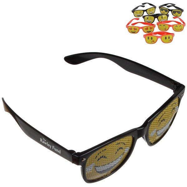Emoji Mesh Pinhole Glasses