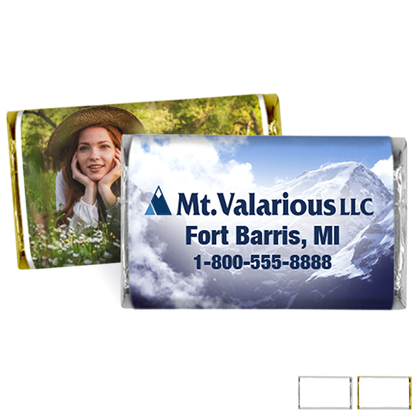 Chocolate Bar with Custom Wrapper, 1oz.