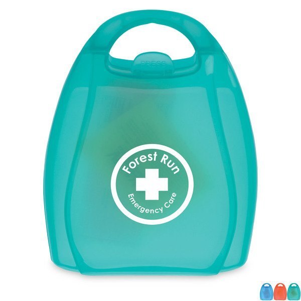 Compact First Aid Kit in Handle Case