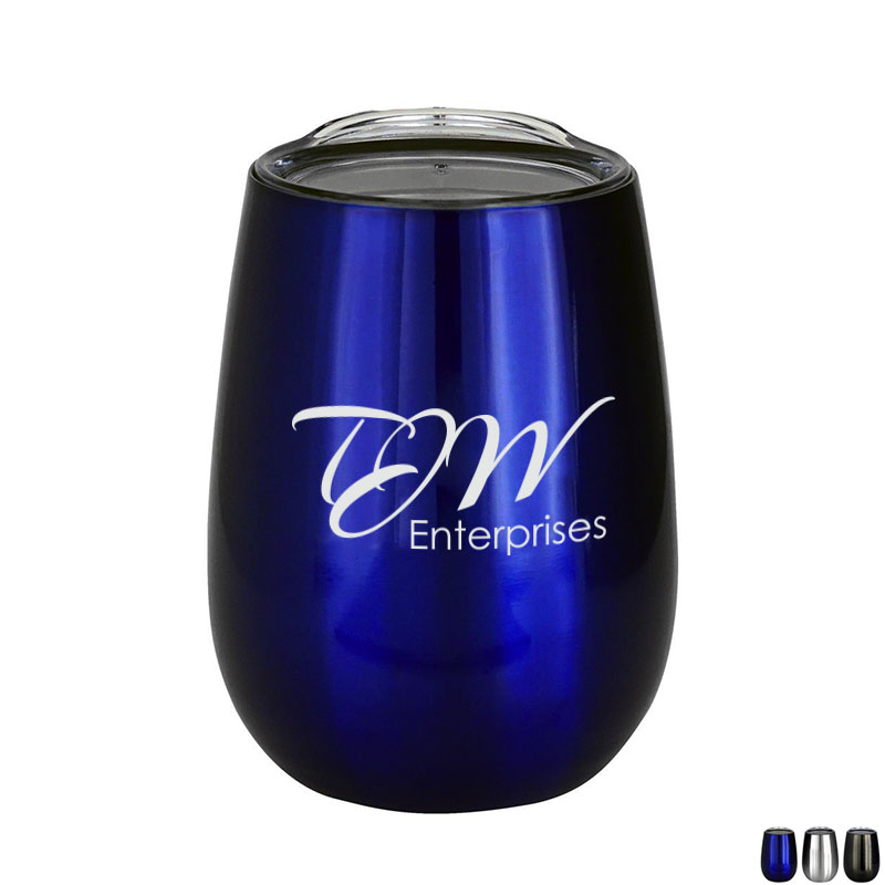 Vacuum Insulated Wine Tumbler, 10oz.