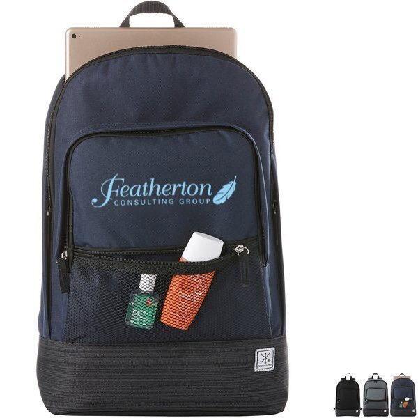 "Merchant & Craft Chase Polycanvas 15"" Computer Backpack"