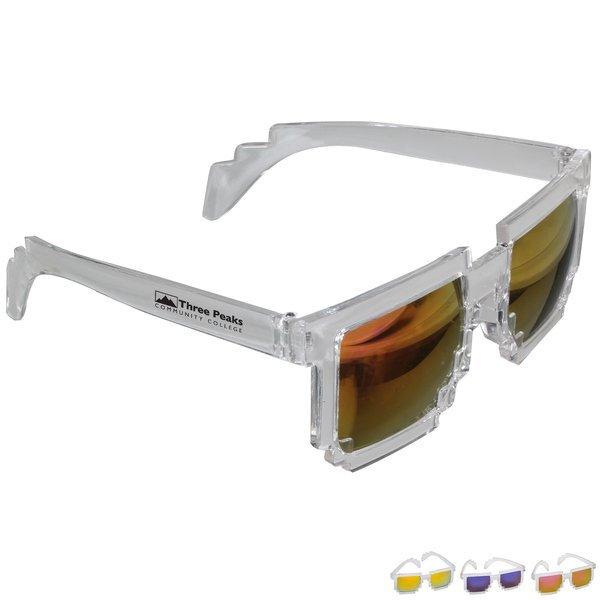Pixel Mirror Sunglasses