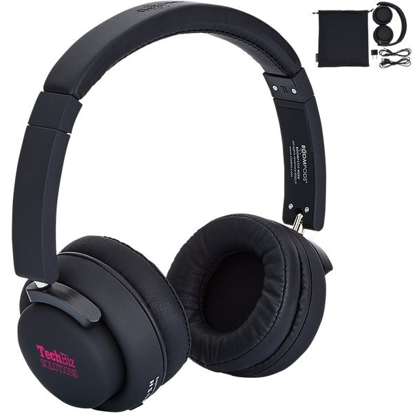 BoomPods™ Hush Noise Cancelling Headphones