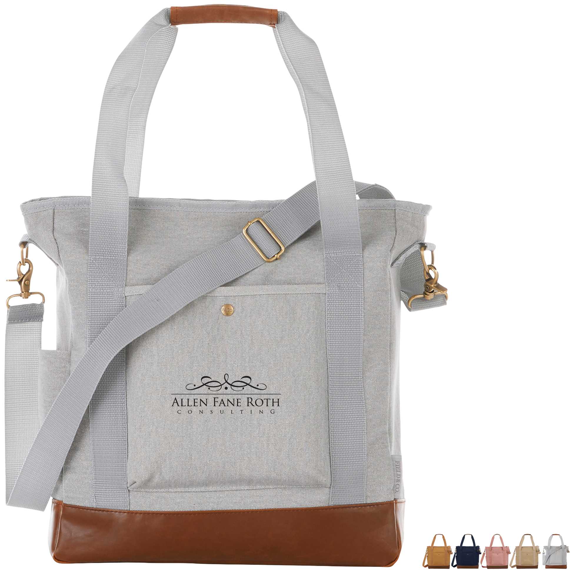 Field & Co™ 16oz. Cotton Canvas Commuter Tote - Free Set Up Charges!
