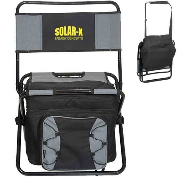 Foldable 600D 40-Can Cooler Chair