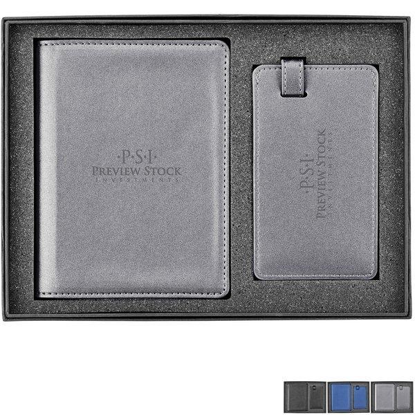 NeoSkin® Luggage Tag & Passport Holder Gift Set