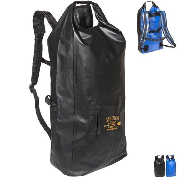 Tarpaulin Backpack Water-Resistant Dry Bag, 35L