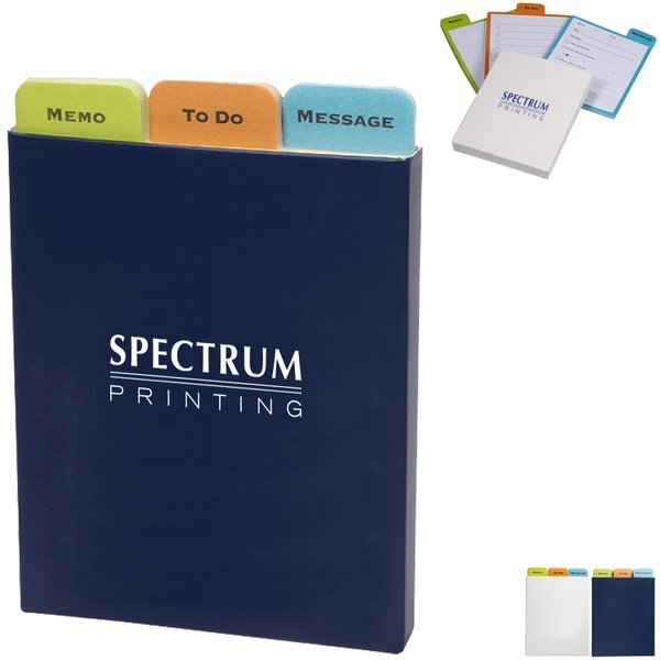 Trio Message Sticky Pads Set