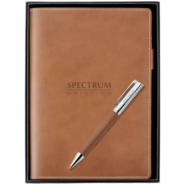 Nathan Leather Journal & Ballpoint Pen Set