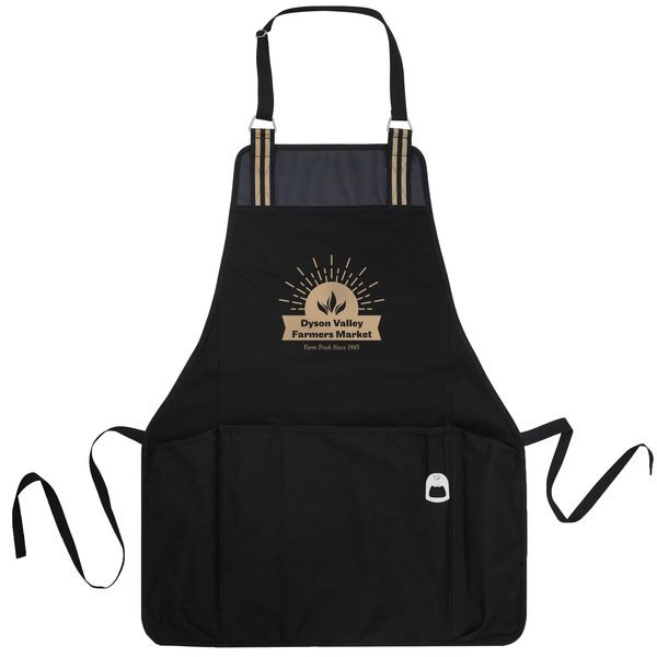 Charlie Cotton Pocketed Grill Apron