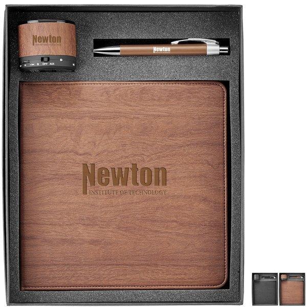 Ronan Mousepad, Speaker & Pen Three-Piece Gift Set