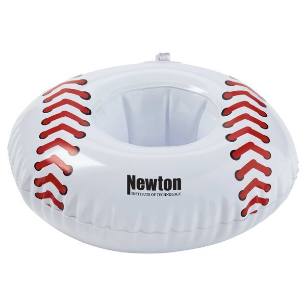 "Inflatable 7"" Baseball Beverage Coaster"
