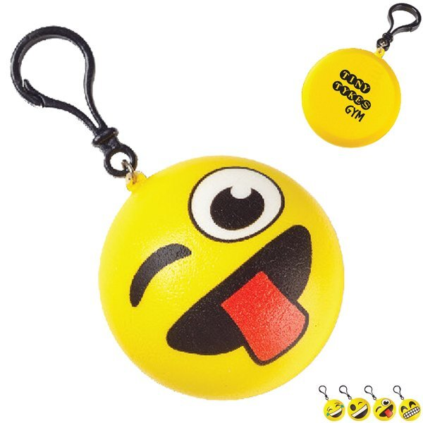 Emoji Clip On Squishy