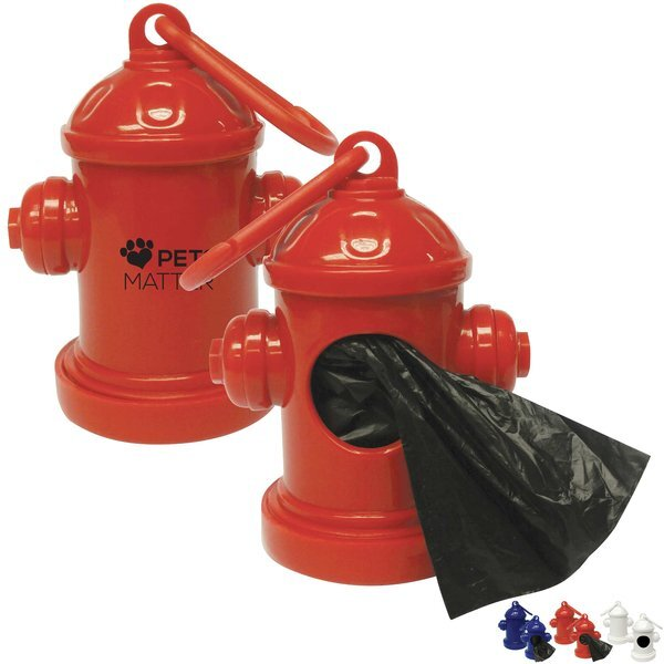Fire Hydrant Baggie Dispenser