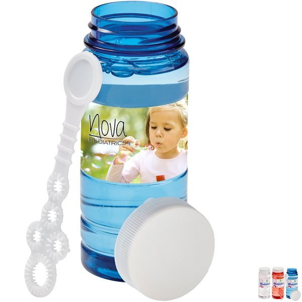 Translucent Bubbles, 4 oz. w/ Full Color Label Imprint