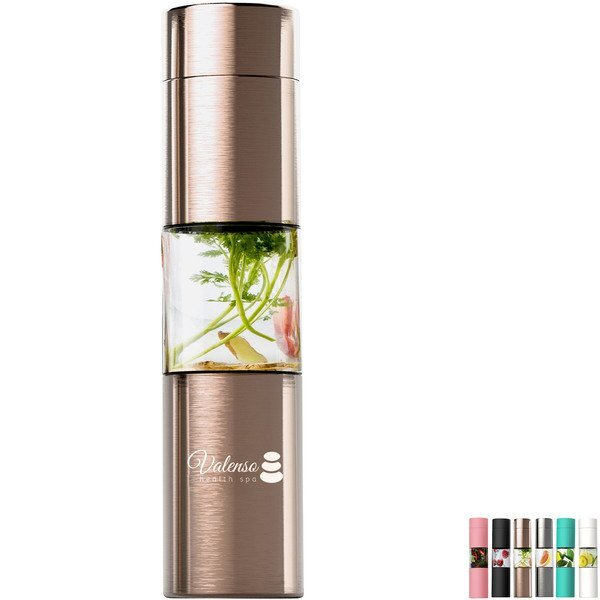 Flavor U See Double Wall Infuser Bottle, 16oz.