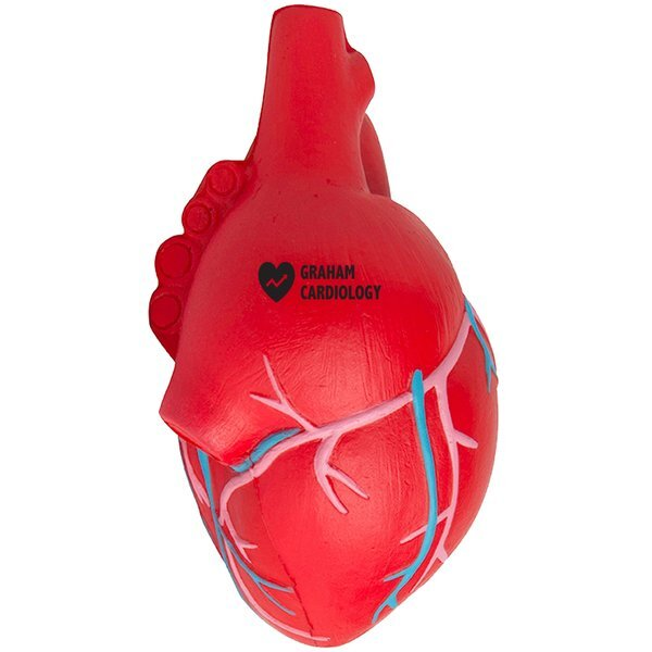 Anatomical Heart with Veins Stress Reliever