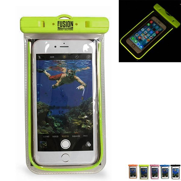 Glow in the Dark Waterproof Cell Phone Pouch