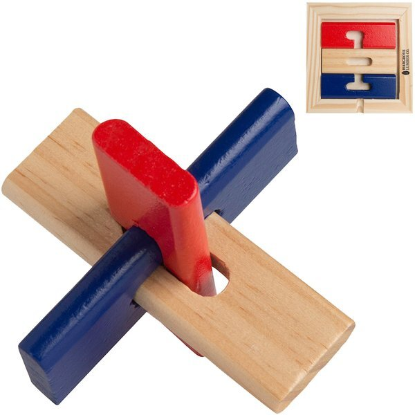Color Wooden Star Puzzle