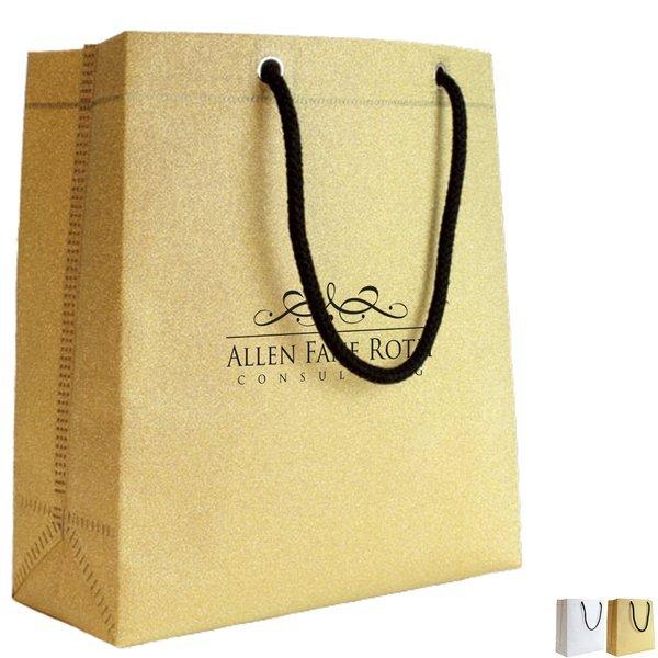 Reusable Non-Woven Glitter Tote Bag